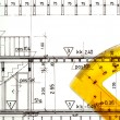 Architectural Drawings projects blueprints — Stock Photo