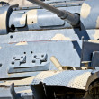 Ww2 old tank close up — Stock Photo #22355271