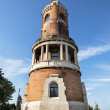 Tower of Sibinjanin Janko Gardos Tower  Millennium Tower  in Zemun, Belgrade, Serbia — Stock Photo