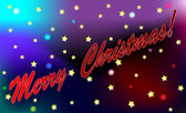 Merry christmas kayan yıldız kuyruklu yıldız soyut illüstrasyon — Stok fotoğraf