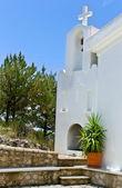 Old church santorini greece — Stock Photo