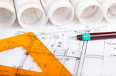 Progetto architettonico — Foto Stock