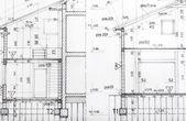 Projeto arquitetônico — Fotografia Stock