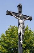 Jesus Christ crucifixion christian cross — Stock Photo