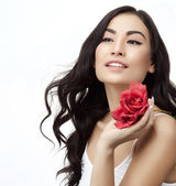 Woman beauty — Stock Photo