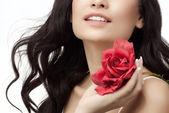 Woman beauty — Stock Photo
