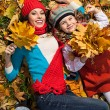 Woman autumn — Stock Photo #40143651