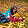 Woman autumn — Stock Photo #40143663