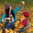 Woman autumn — Stock Photo #40143677