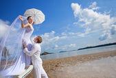 Island wedding — Stock Photo