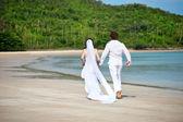 островная свадьба — Стоковое фото