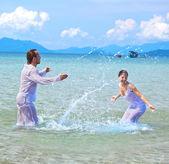 Island wedding — Fotografia Stock