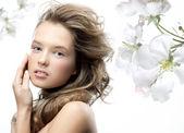 Bellezza donna — Foto Stock