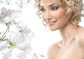 Woman beauty — Fotografia Stock