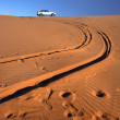 Stock Photo:  car in desert