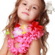 Hawaiian Hula Dancer Girl — Stockfoto