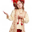 Girl dressed as sultan — Stock Photo #19898919