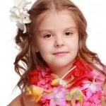 Hawaiian Hula Dancer Girl — Stock Photo #19899115