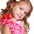 Hawaiian Hula Dancer Girl — Stock Photo