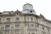 Beautiful building in the center of Lviv — Stock Photo