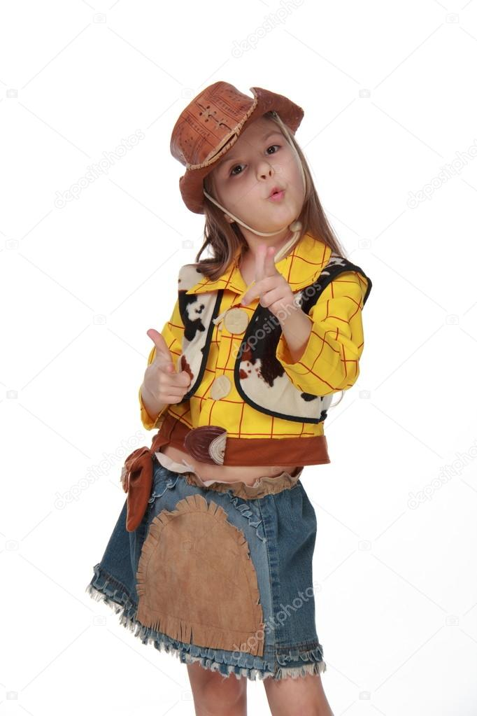 Костюм ковбоя для девочки своими руками