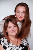 Pretty mother and daughter — Stock Photo