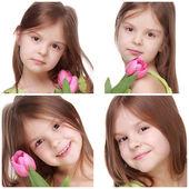 Niña linda — Foto de Stock