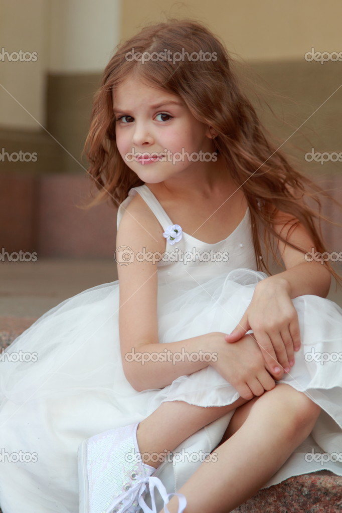 Cute Long Dresses For Little Girls Little Girl With Long Hair