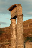 日没時の古代都市 pantikapaion — ストック写真