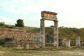 Ancient city of Pantikapaion, the modern city of Kerch, Ukraine — Stok fotoğraf