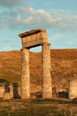 Ancienne ville pantikapaion au coucher du soleil — Photo