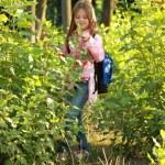 Adorable little schoolgirl — Stock Photo #30063991