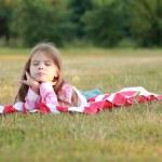 šťastný Rozkošná holčička — Stock fotografie