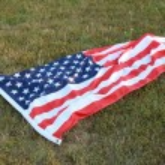 vlajka USA — Stock fotografie