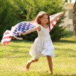 Beautiful joyful girl — Stock Photo