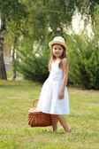Happy smiling young girl — Stock Photo