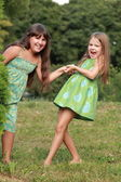 Adorable funny kids — Stock Photo