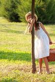 Joyful happy young girl — Stock Photo