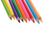 Crayons de couleurs différentes — Photo