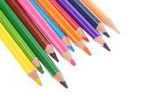 Varios lápices de colores — Foto de Stock