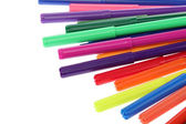 Various felt tip pens — Stock Photo