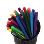 Color felt-tip pens — Stock Photo #31370005
