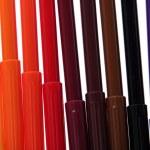 Color felt-tip pens — Stock Photo #31370023