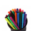 Color felt-tip pens  — Stock Photo