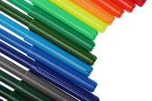 цветные фломастеры — Стоковое фото
