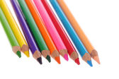 Pencils background — Stock Photo