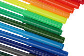 Colors marker pens — Stock Photo