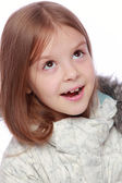Ovely holčička — Stock fotografie