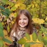 Girl in autumn time — Stock Photo #35944621