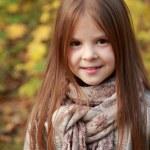 Girl in autumn time — Stock Photo #35944651